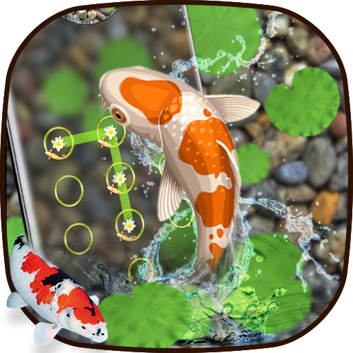 Lively koi Fish locker themes Icon
