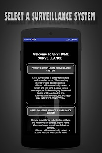 Droid Motion Home Surveillance - náhled