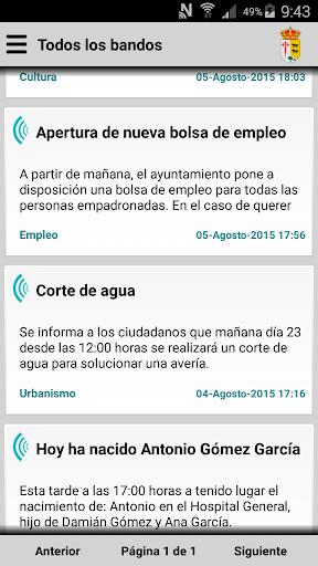 Puebla del Maestre Informa