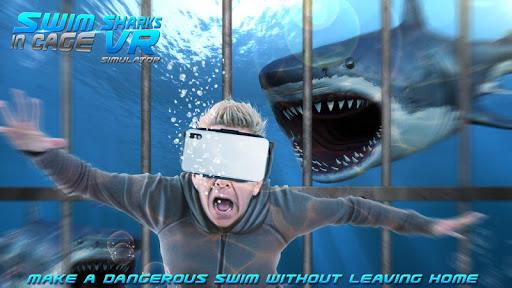 Swim Sharks In Cage VR Simulator 2.1 screenshots 1