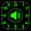Smart Watch Speaking Clock : Talking Clock Time icon