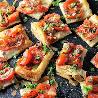 Puff Pastry Cheese And Tomato Recipes.
