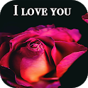 Flowers and Roses image GIFs, I love you photos 4K icon
