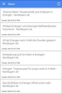 Nachrichten aus Erlangen - náhled