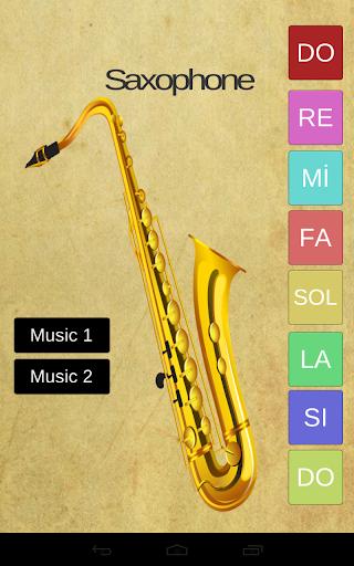 Real Saxophone