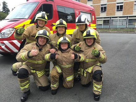 Firefighters host youngster on UK fund tour