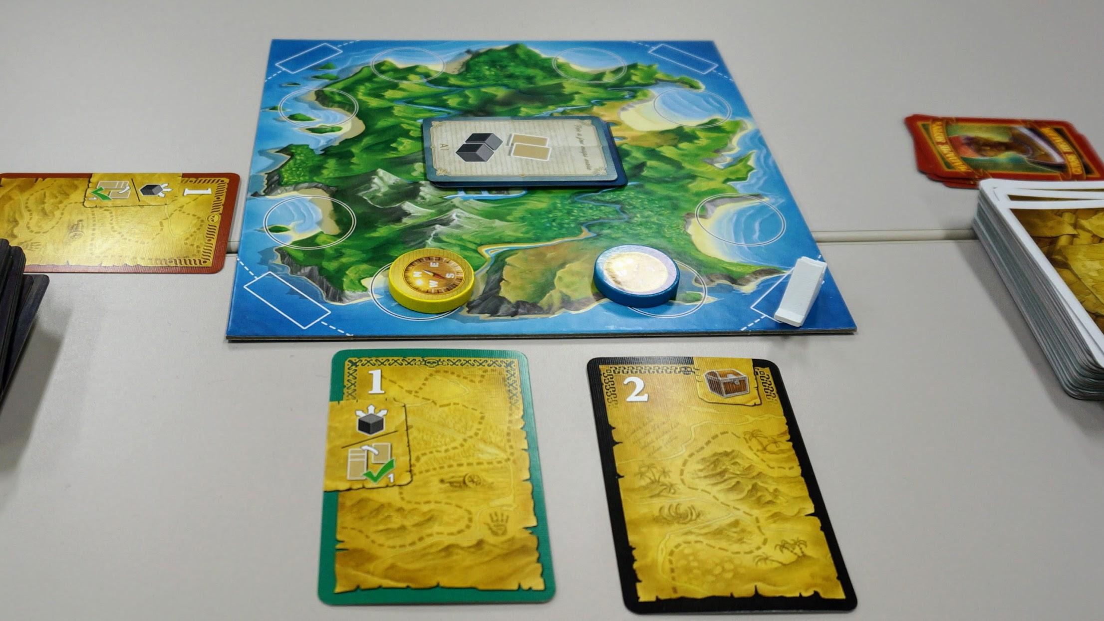 ルートアイランド (Loot Island):島へのカードプレイ