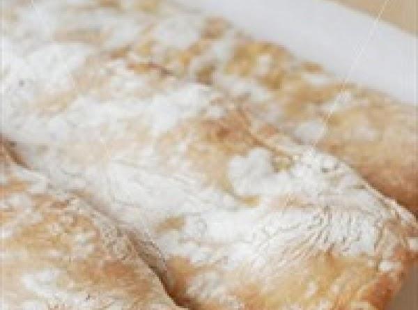 No-knead Ciabatta Bread Recipe