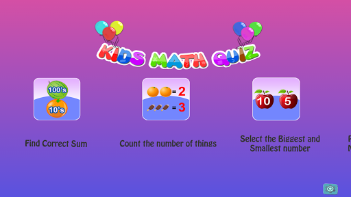 Kids Math Quiz
