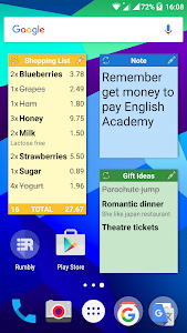 Rumbly: ToDo, Task List Widget screenshot 0