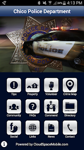 Chico Police Department- screenshot thumbnail