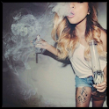 Stoner Girls Live Wallpaper HD icon