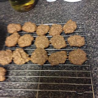 Chunky Monkey Oatmeal Cookies
