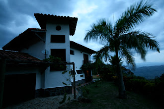 Photo: The Finca at dusk.