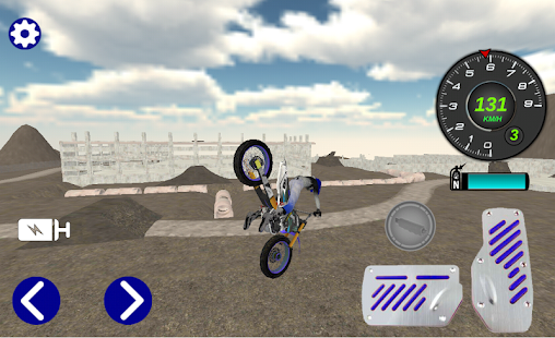 Motocross Motorbike Simulator- screenshot thumbnail