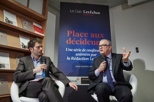 Club Les Echos Débats avec Christian Lajoux, Président de Sanofi France