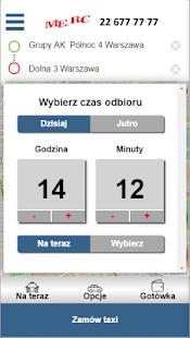 MERC TAXI Warszawa 22 677 77 77 - náhled