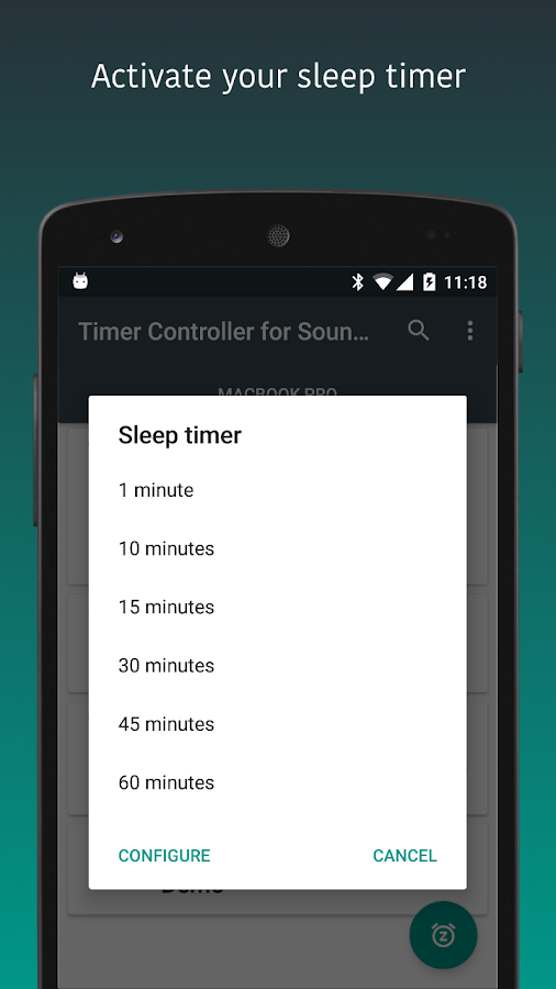 TimerApp for Bose SoundTouch- screenshot
