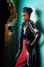 Photo: More new work: African queen - shot in the turquoise ruins of Kampala, Uganda.  www.deanbradshaw.com.au