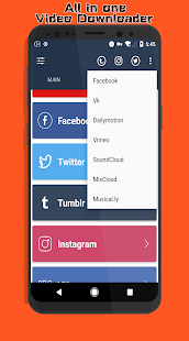 App Timbload - All video downloader (Tumblr & Twitter) APK for Windows Phone