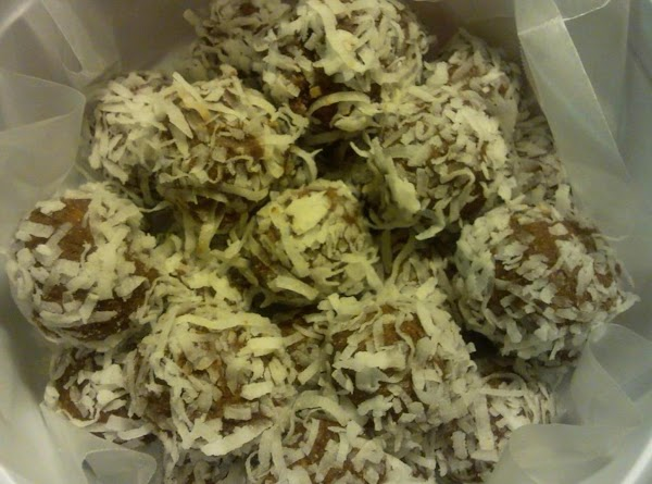 Tropical Rum Balls Recipe