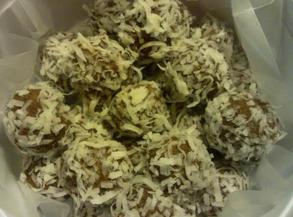 Tropical Rum Balls