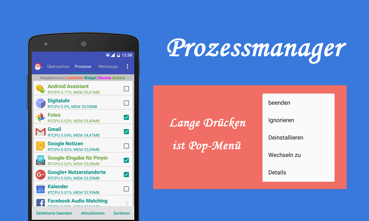 Assistant for Android - 1MB – Screenshot
