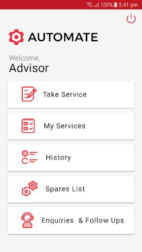 automate - garage management app screenshot 2