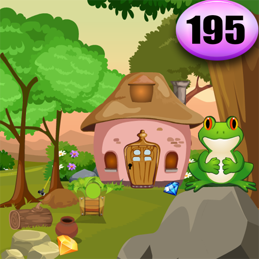 Frog Rescue From The Rock Best Escape Game 195
