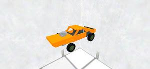 マッスルカー(ドラッグレース仕様)タイヤなし