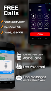 Free Phone Calls, Free Texting- screenshot thumbnail