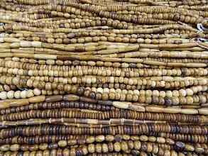 Photo: Bone beads at Objets D'Art in Corpus Christi,Texas