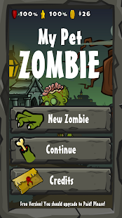 My Pet Zombie- screenshot thumbnail