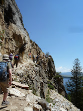 Photo: Up to the Inspiration Point