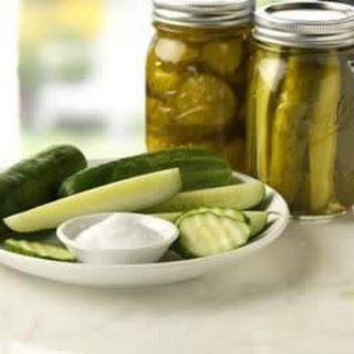 Dill Pickle Sandwich Slices