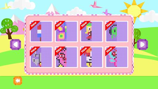 Mirror Mosaic : Symmetry Puzzles apkpoly screenshots 3