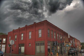 Photo: Historic Downtown just after the storm...