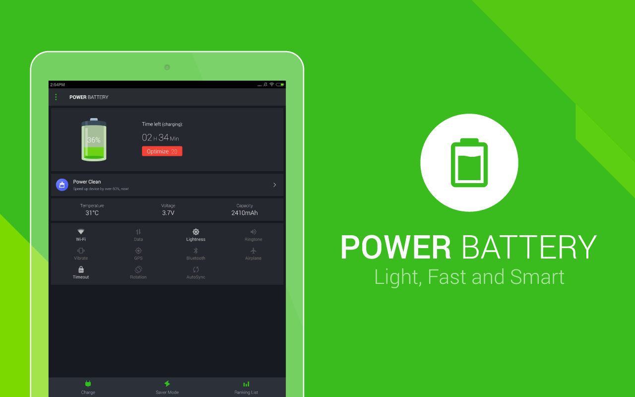 Power Battery - Battery Life Saver & Health Test- screenshot