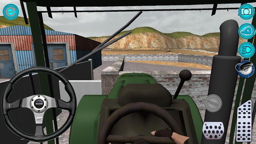 android Traktör: Simülatör 3D 2016 Screenshot 7