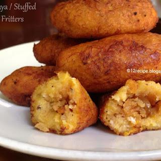 Unnakaya / Stuffed Banana Fritters