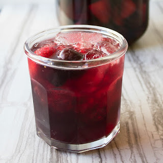 Red Wine Pomegranate Punch.