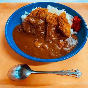 福岡県警察本部に出頭してカツカレーを食べてきた / ザクザク衣でマッタリ食感のカレーがウマイ!