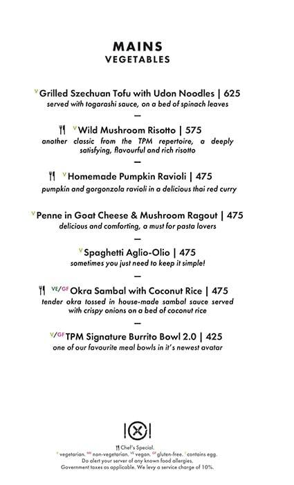 Dirty Apron menu 3