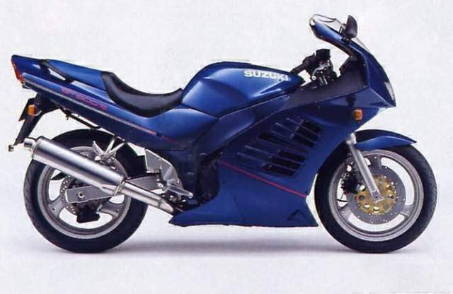 suzuki RF 600-manual-taller-despiece-mecanica