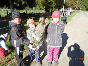 Photo: Oslí holčička Kristýnka