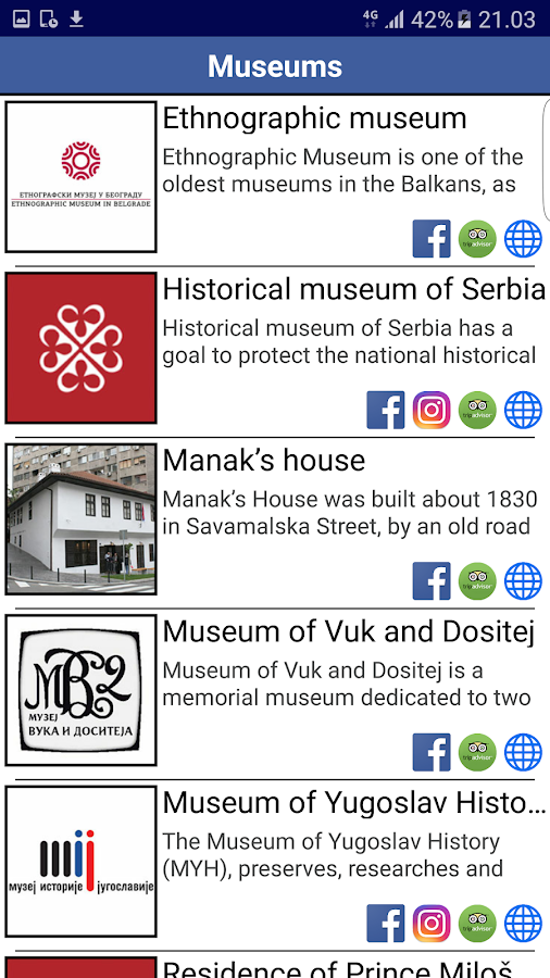 Belgrade Travel Card- screenshot