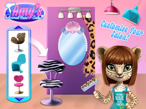 Amy's Animal Hair Salon - Cat Fashion & Hairstyles 4.0.50003 screenshots 14