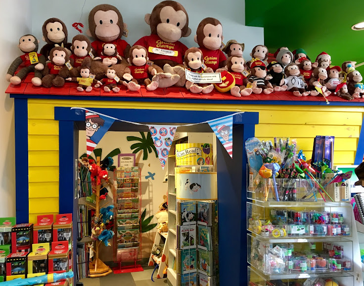 More Curious George than you can handle.