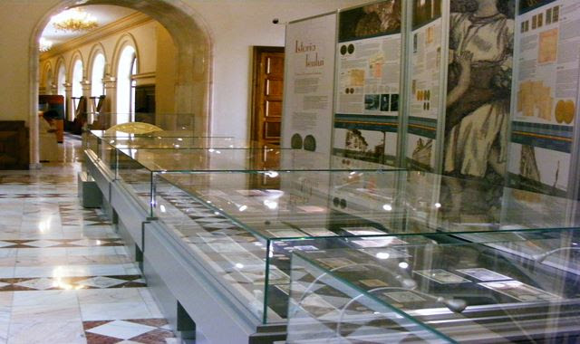 HISTORY OF ROMANIAN CURRENCY AT CENTRAL BANK MUSEUM BUCHAREST
