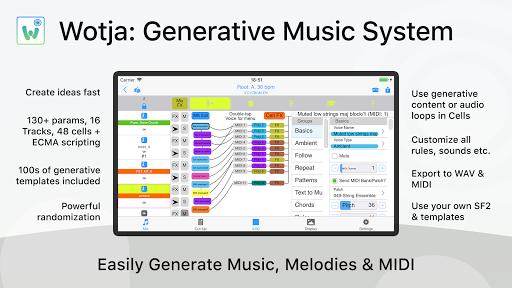 Wotja: Generative Music System 19.0.9 screenshots 1
